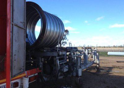 Corrugated Metal Pipe Machine