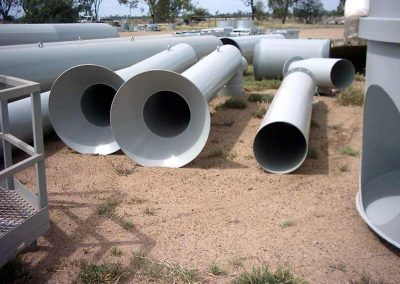Fabricated Pipes ready for Install