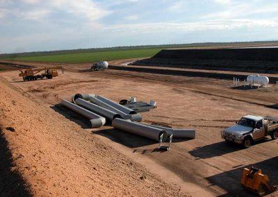 Irritek Steel Pipes For Cotton Farm Nsw