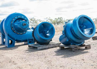 Pumps Ready For Installation