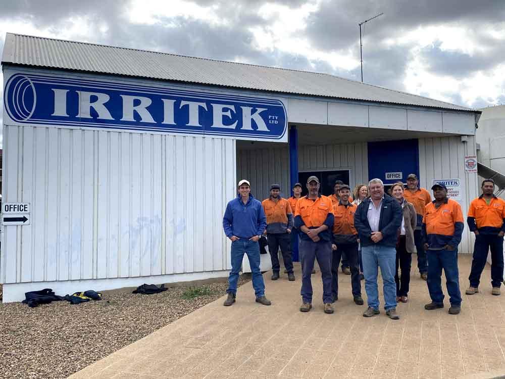 Irritek Water Irrigation Team