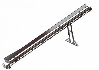 Trash Conveyors Designed And Manufactured By Irritek